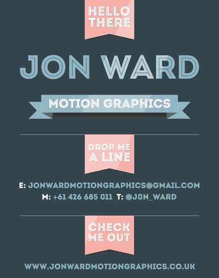 Jon Ward Motion Graphics - Jon Ward Motion Graphics