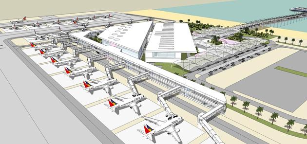 Caticlan Airport New Terminal Philippines 2013 Otc Planning Design