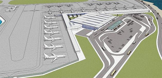 Caticlan Airport New Terminal Philippines 2013 Otc